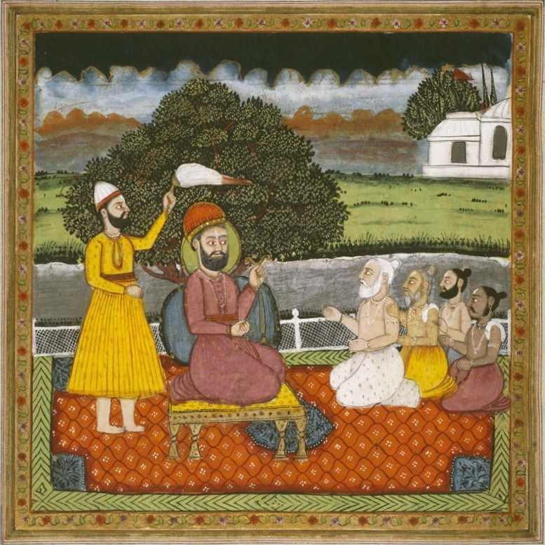 Guru.Nanak.with.Hindu.holymen-b