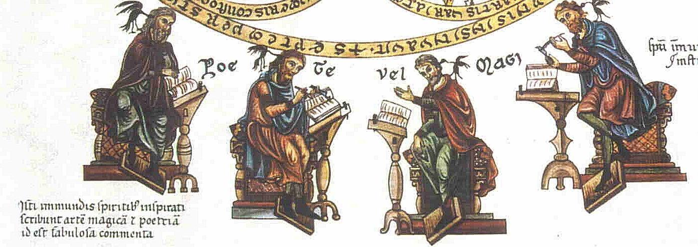 1180 - Septem artes liberales - Herrad v. Landsberg - Hortus delicarium