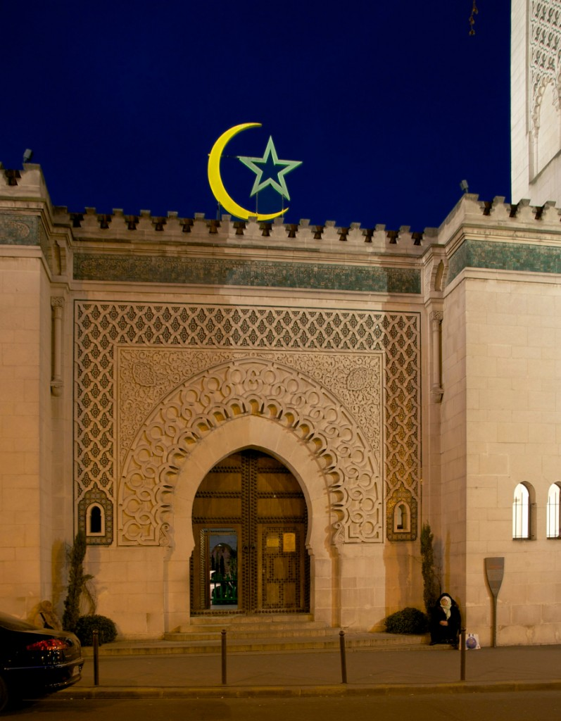 Mosque_Paris_main_entrance