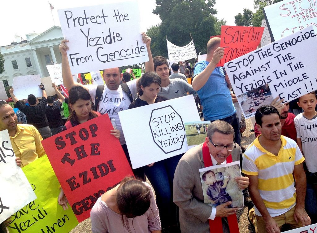yezidi_demonstration_at_the_white_house