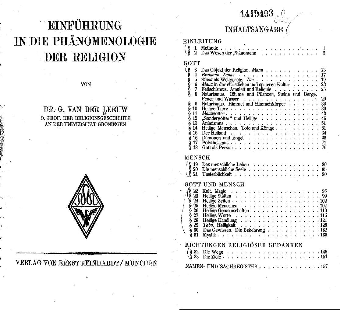 religionsphänomenologie